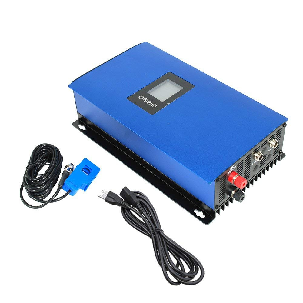 1000W Solar on Grid Tie Inverter with Power Limiter for Home PV Power System DC 45-90V/110v
