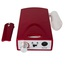 Red Electric Nail Drill Filer Kit Rechargeable Cordless Acrylic Manicure Machine Pedicure Tool