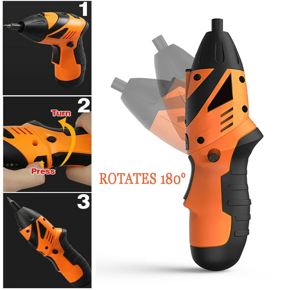 45 in 1 Power Tool Rechargeable Cordless Electric Screwdriver Drill Kit Wireles