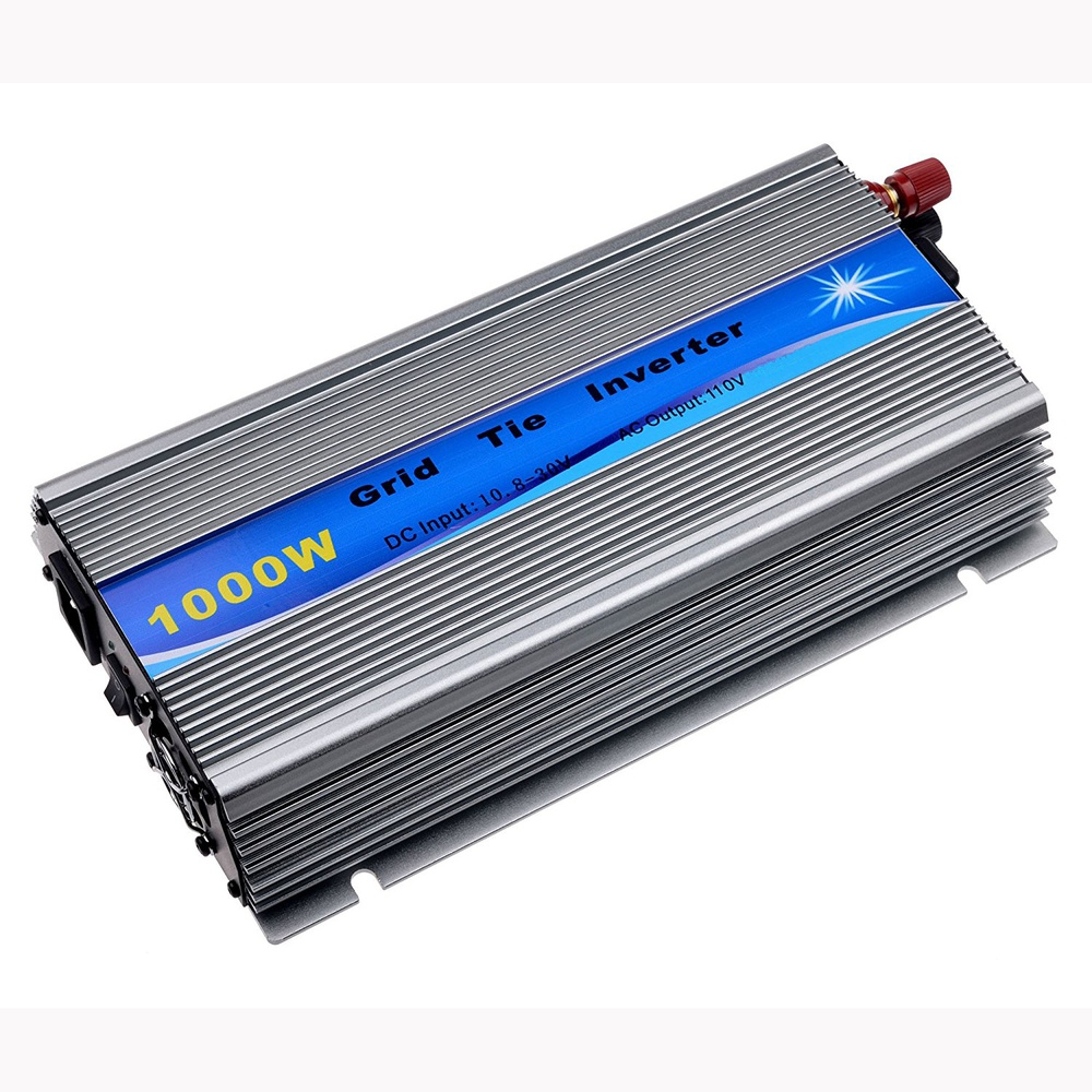 1000W Micro Grid Tie Inverter for Solar Home System MPPT function Pure Sine Wave DC22V-45V to AC110V