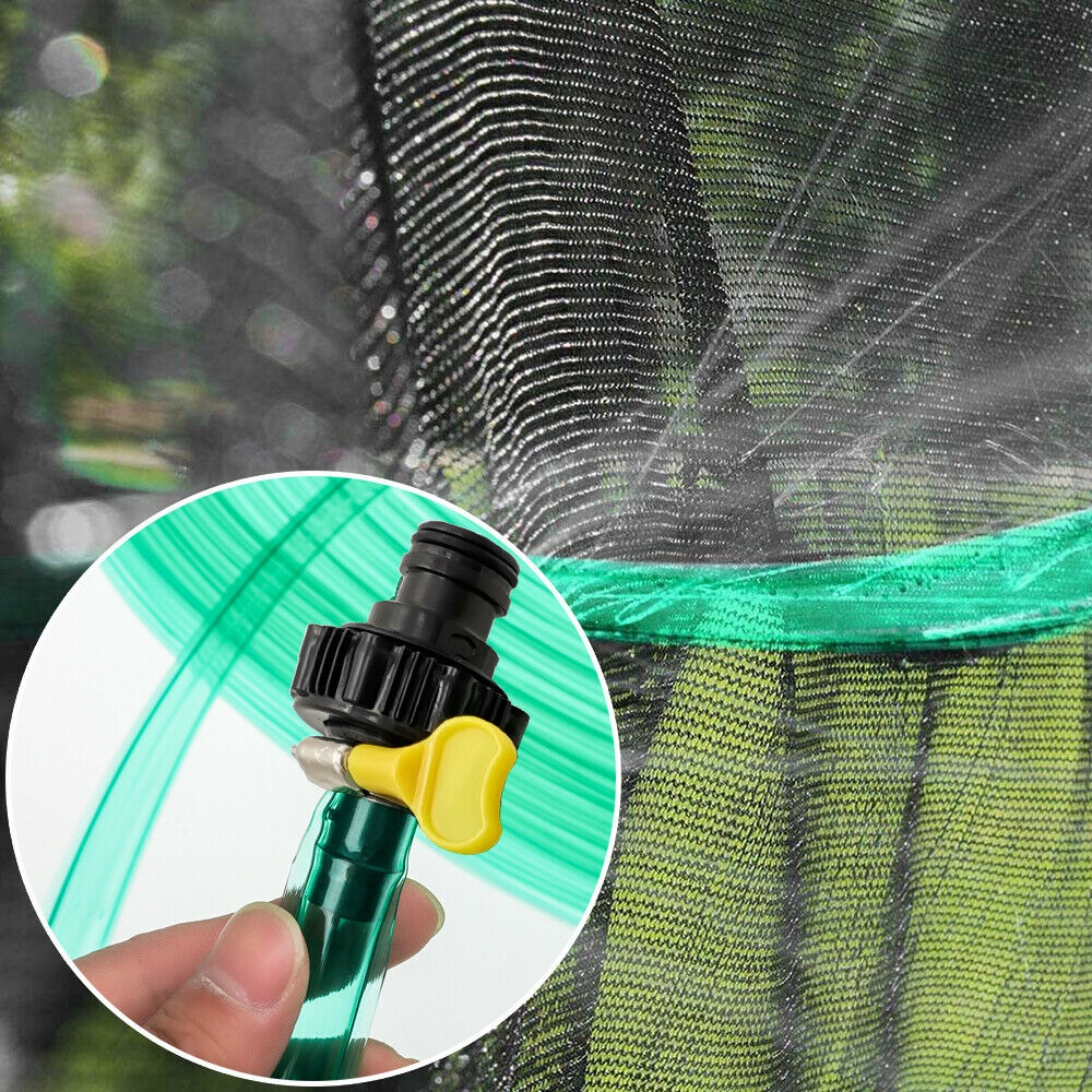 "Soaker Hose Flat Seeper 3/4"" Garden Patio Lawn Plant Yard Watering 39 ft US"
