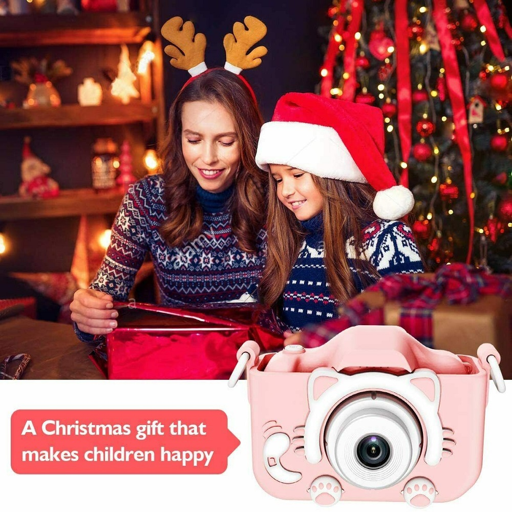 Kids Digital Camera Children LCD HD Rechargeable Video Toddler Educational Toy